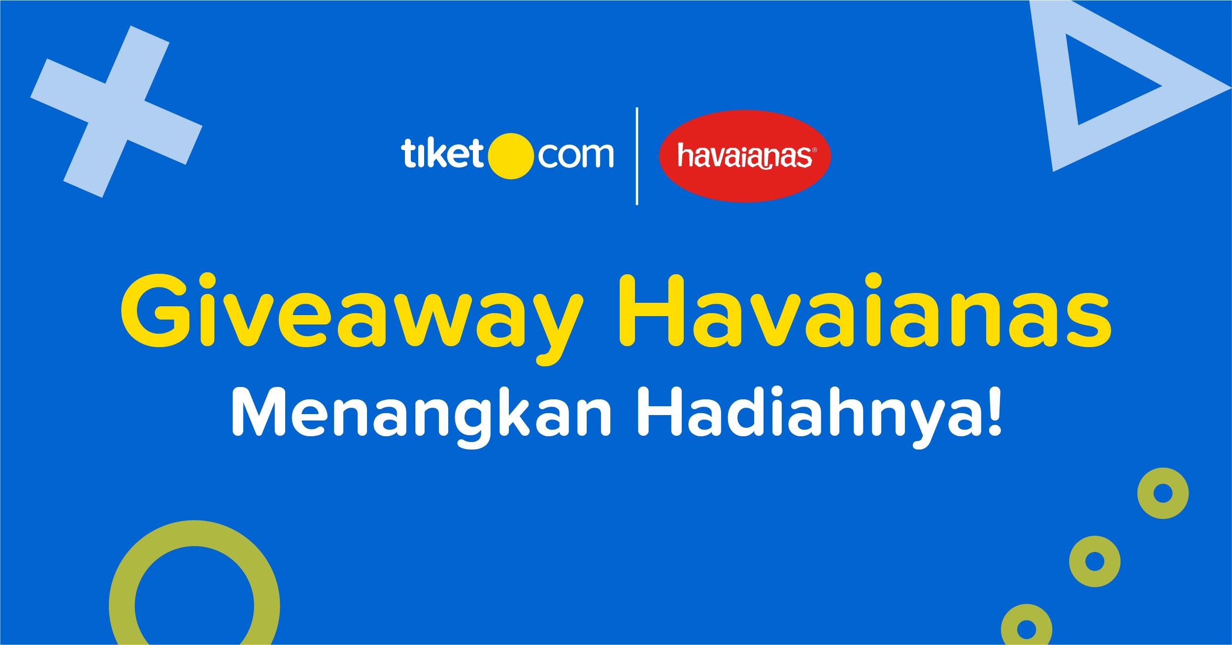 Giveaway Havaianas 2019