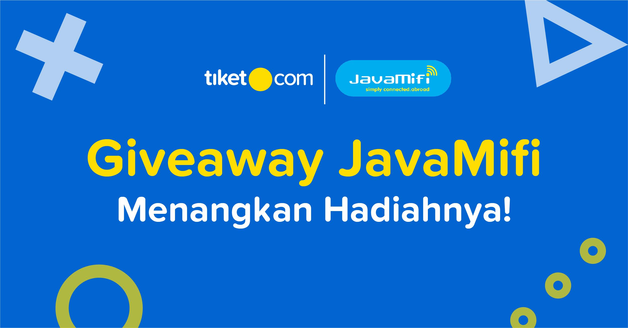Giveaway JavaMifi
