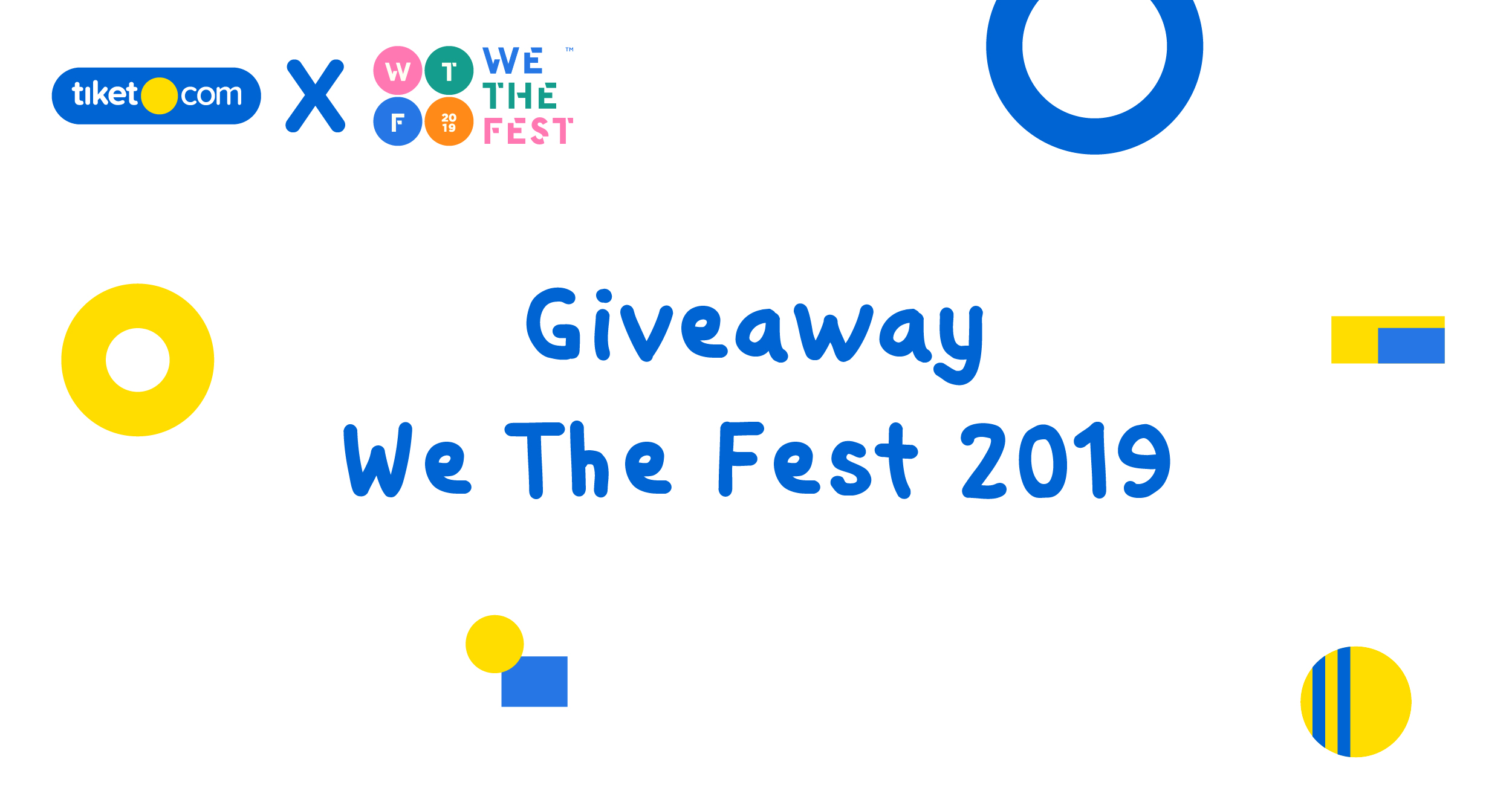 Giveaway We The Fest 2019