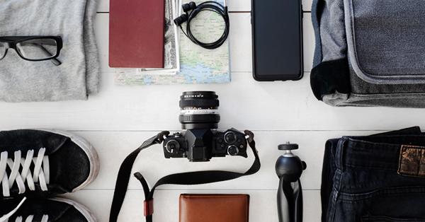 Go Green Saat Liburan_blog_Tas dengan bawaan yang simple
