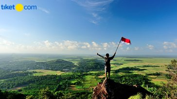 Gunung Sebagai Lokasi Upacara Kemerdekaan Indonesia