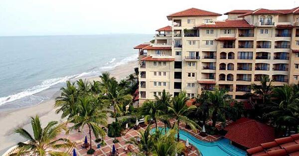Hotel di Anyer Dekat Pantai - Marbella Hotel, Convention & Spa