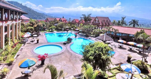 Hotel di Batu Malang - Royal Orchids Garden