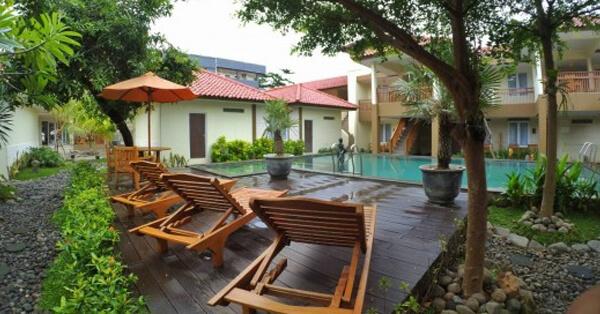 Hotel di Pangandaran dengan View Laut - Bulak Laut resort & hotel