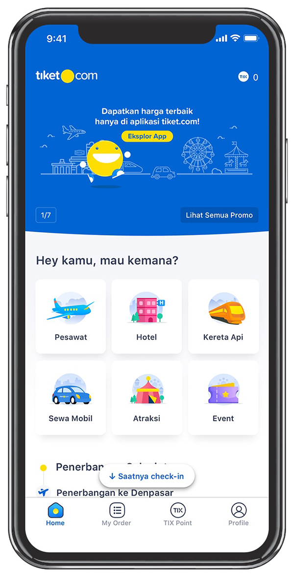 Cara Check In Online