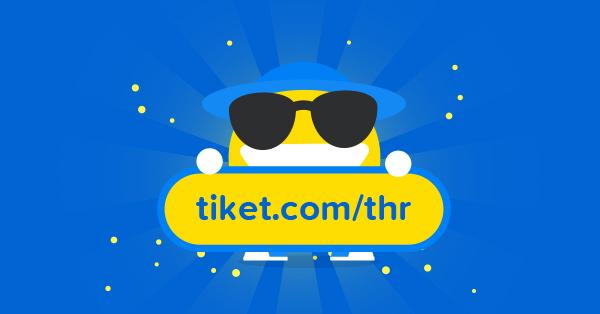 Kuis Tiket Hari Raya tiket.com