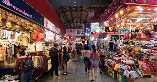 Itinerary Singapore - bugis street