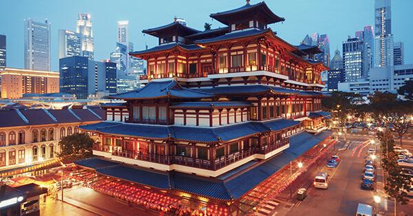 Itinerary Singapore - chinatown