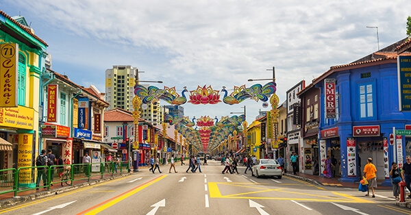 Itinerary Singapore - little india