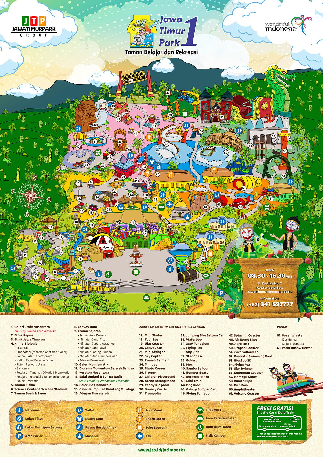 Peta Jatim Park 1