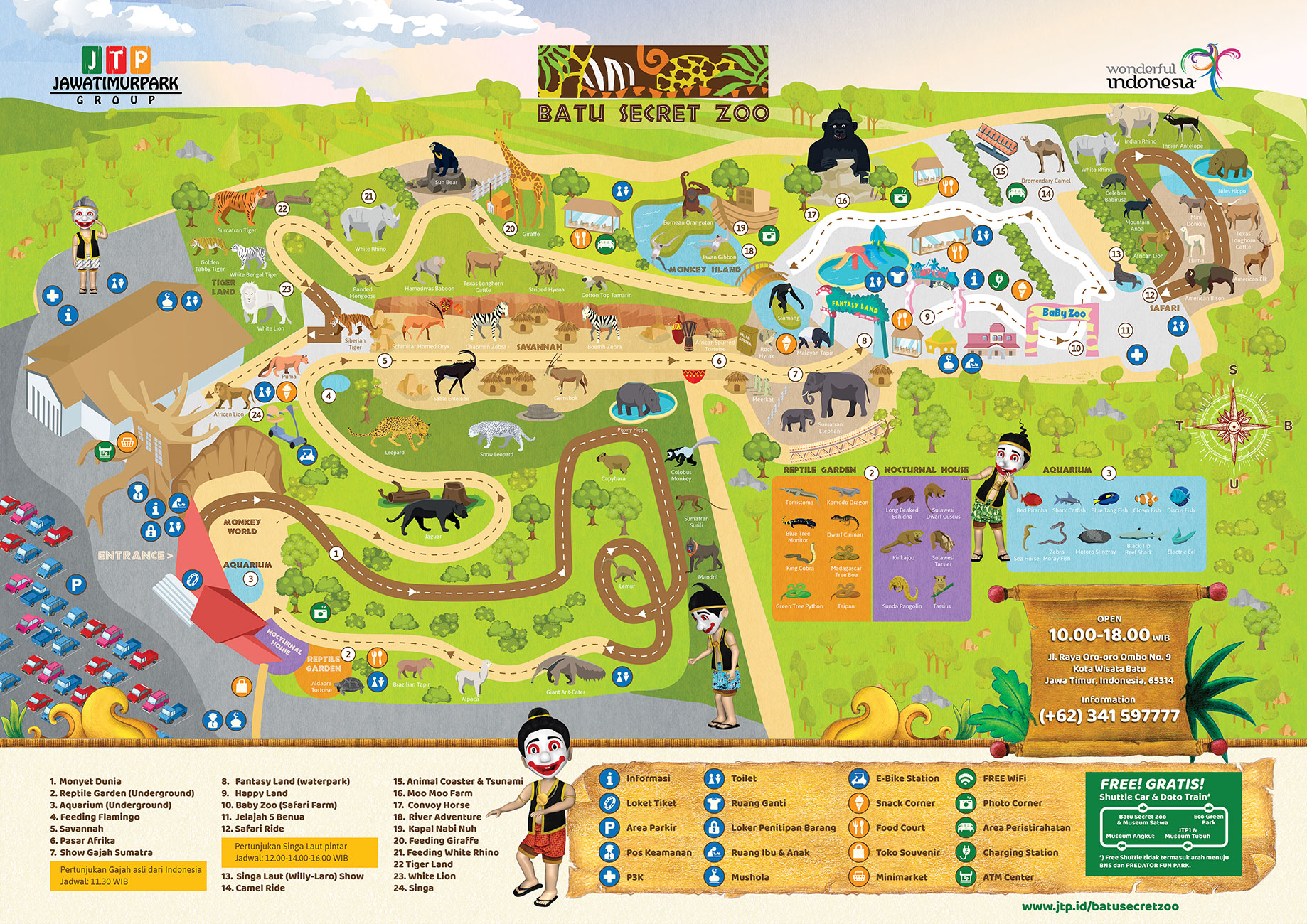 Peta Jatim Park 2