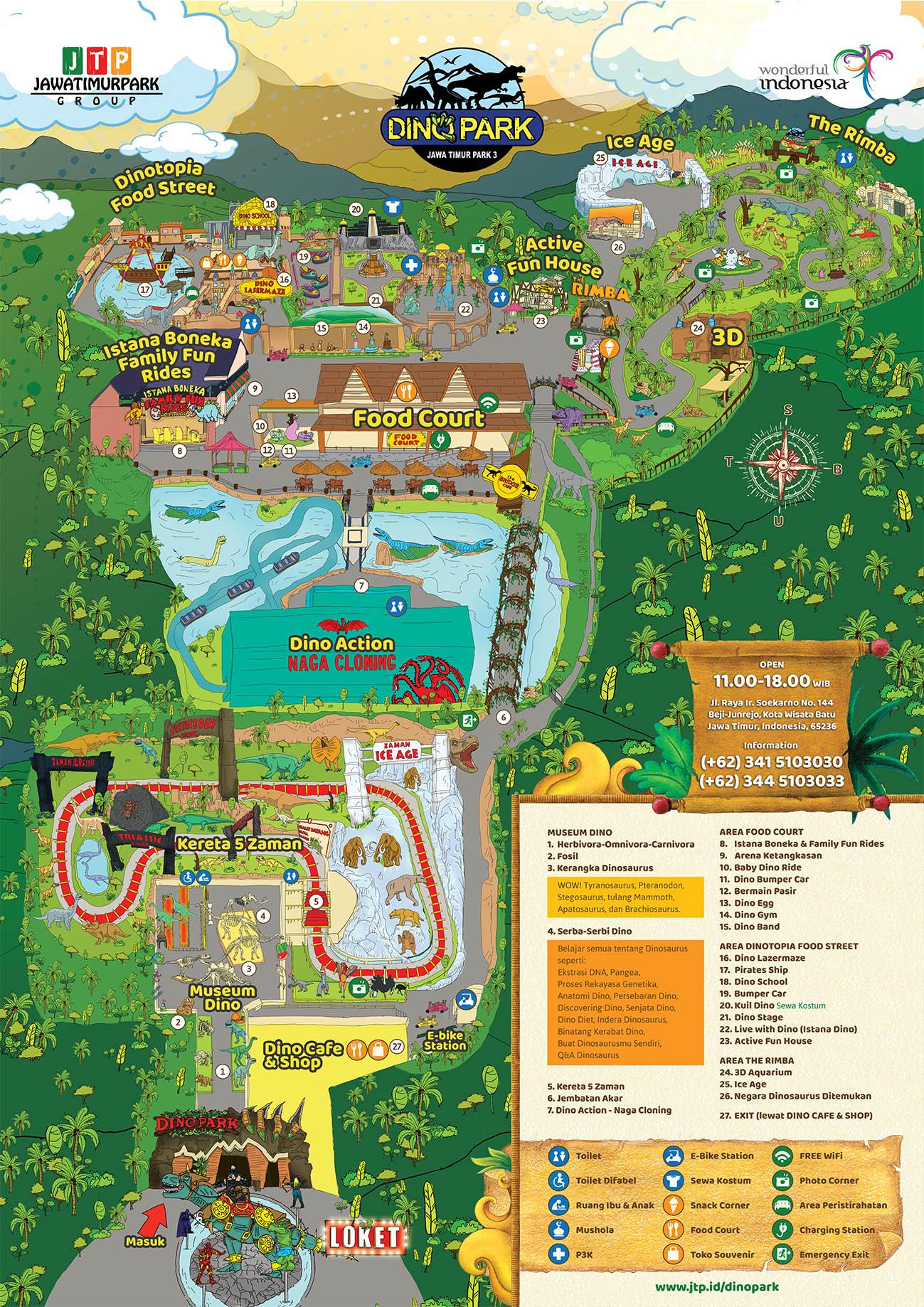 Peta Jatim Park 3