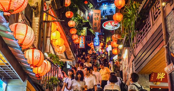 Best Places in Taiwan Jiufen Old Street