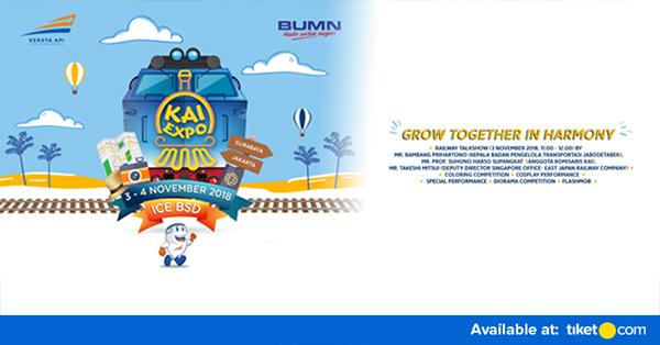 Jalur Kereta Api - Tiket KAI Expo