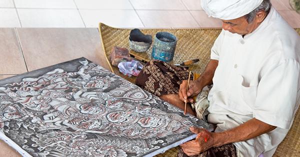 Kerajinan Khas Bali - Lukisan