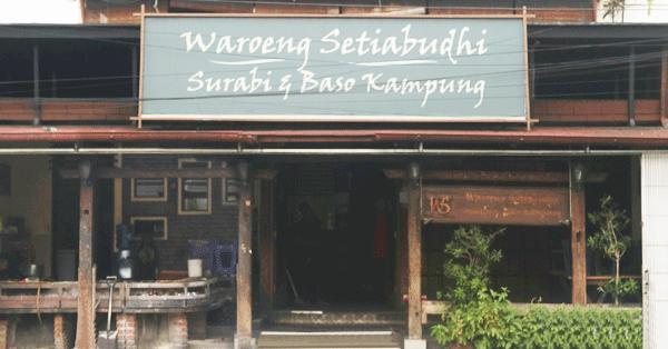 Kuliner Bandung - Surabi Waroeng Setiabudi