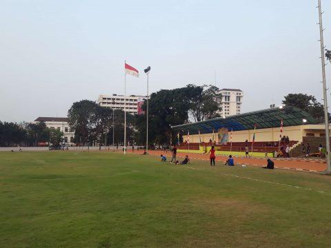 Lapangan Banteng Jakarta - Fasilitas Olahraga (1)