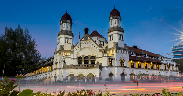 historical destinations in Indonesia_Lawang Sewu