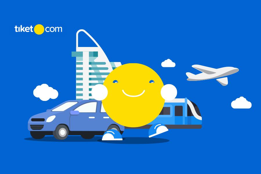 Liburan Pakai tiket.com Pasti Lebih Asyik Karena Banyak Promonya!