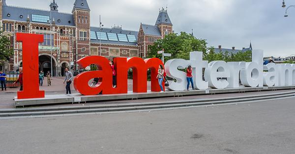 Liburan ke Amsterdam - Ikon