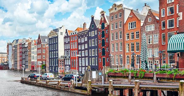 Liburan ke Amsterdam - Kanal Air