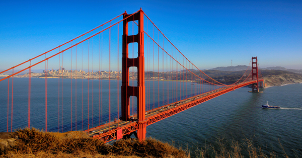 Liburan ke San Francisco - Golden Gate Bridge