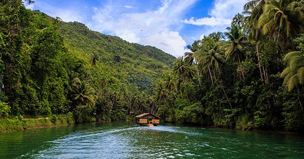 Tempat Wisata di Filipina yang Terkenal - Loboc River