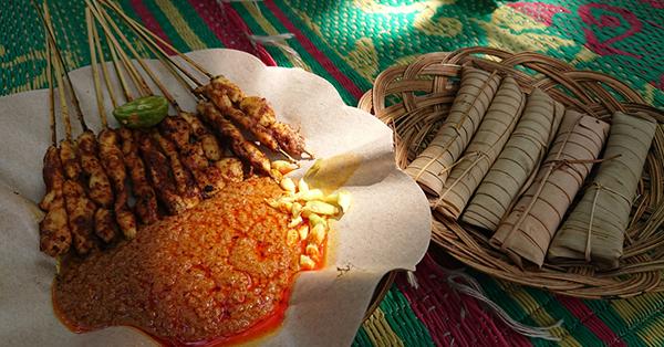 Jajanan tradisional lombok