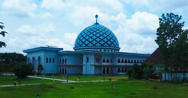 Masjid Terindah di Lombok - Masjid Agung Praya