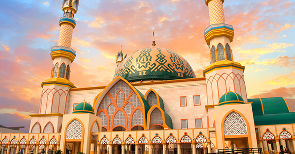Masjid Terindah di Lombok - Masjid Islamic Centre