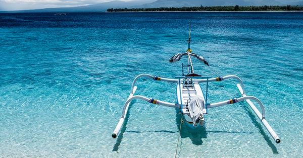 Transportasi PIlihan Pulau Lombok-Boat