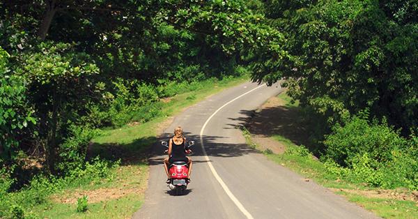 Transportasi Pilihan Pulau Lombok-Ojek
