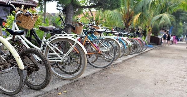 Transportasi Pilihan Pulau Lombok-Sepeda