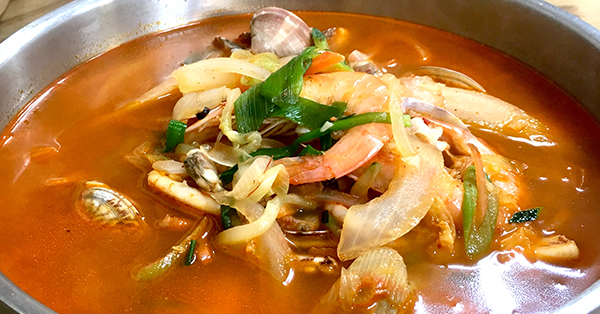 Makanan Khas Korea - Jjampong