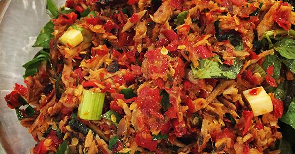 Makanan Khas Manado - Cakalang Fufu
