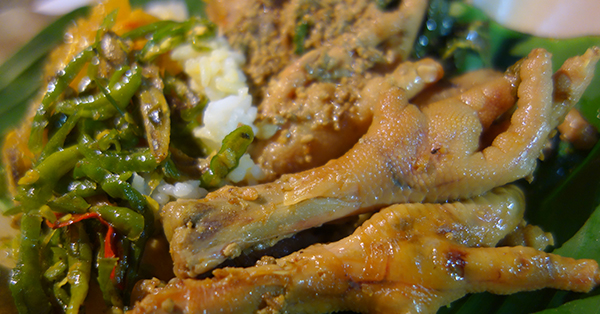 Makanan Khas Solo - Gudeg Ceker