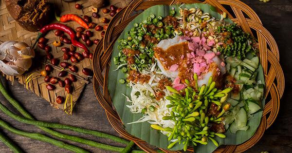 Makanan Khas Sunda - Karedok