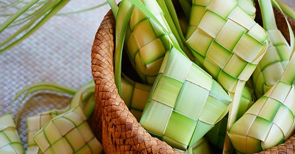 Makanan khas Lebaran - ketupat