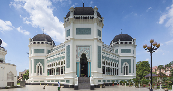 Interesting Thing in Medan - Great Mosque