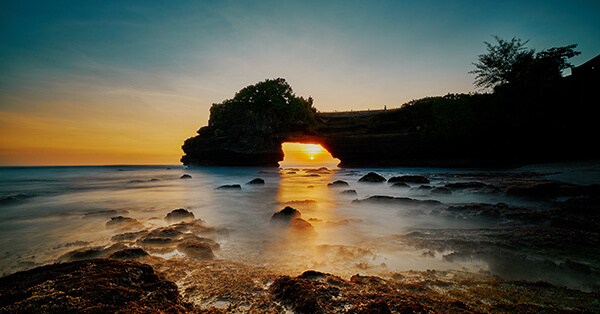 Mitos dan Fakta Tanah Lot - Sunset