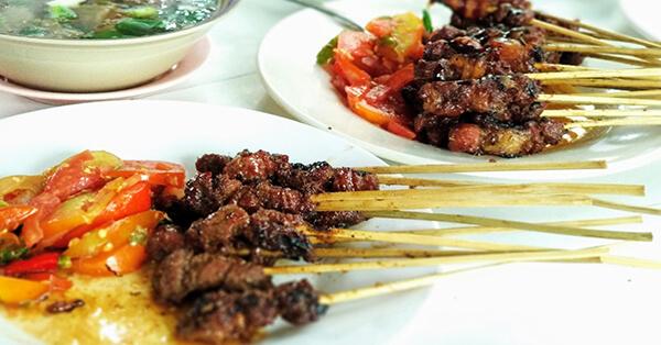 Olahan Daging Sapi Khas Indonesia - Sate Maranggi