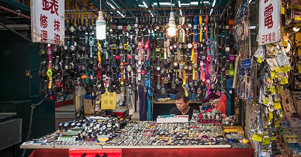 Cheap Souvenir Centers in Hong Kong - Ap Liu Street Electronics Market