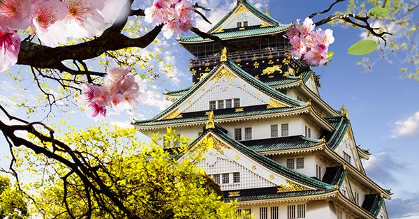 Tempat Wisata di Osaka - Osaka Castle