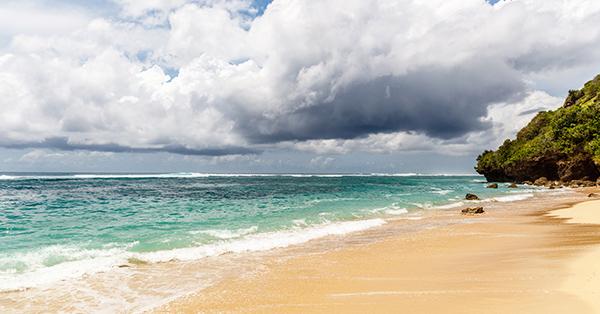 Pantai Baru di bali