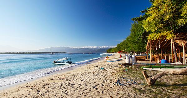 Pantai di Lombok - Gili Trawangan