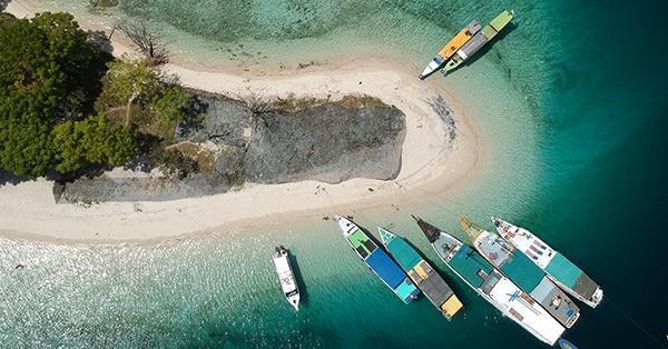 Pantai di Lombok - Pantai Kuta Lombok