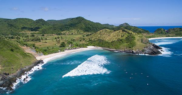 Pantai di Lombok - Pantai Mawi