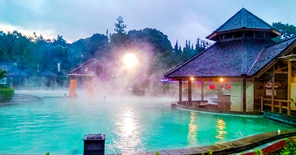 Bandung Hot Springs - Pemandian Air Panas Bandung - Pemandian Air Panas Ciater