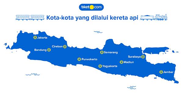 Perkembangan Kereta Api di Indonesia-Jalur Kereta Api Indonesia