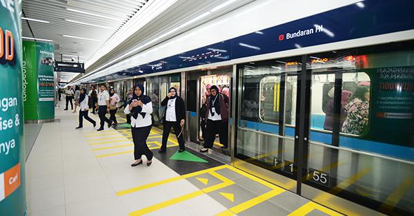 Peta Jalur MRT Jakarta 2019 Terbaru dan Terlengkap - Kereta Jalur Bawah Tanah